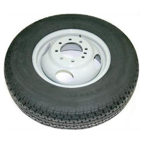 235/80R16, 14-16 Ply, Dual Tire with Steel Rim PJ Trailers (tires)