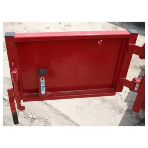 Door Assembly for 5' Single Axle Dump Trailer - RH Door Assemblies PJ Trailers