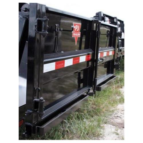 Ti-Gate Assembly for D6 Dump Trailers Tri-Gate Assemblies PJ Trailers