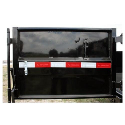 Door Assembly for Trigate Dump Trailer- RH Door Assemblies PJ Trailers