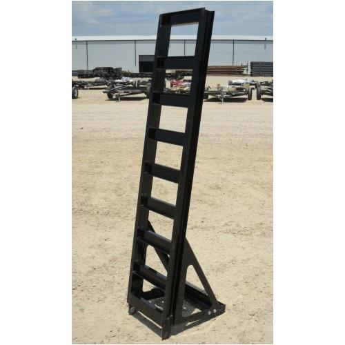 Fold-Up Ramp with Adj. Knee X-Long Fold-Up Ramps PJ Trailers
