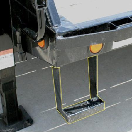 Step for Flatdeck/GN Trailers