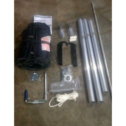"Tarp Kit 84""x18' Vinyl with Grommets Tarp Kit PJ Trailers"