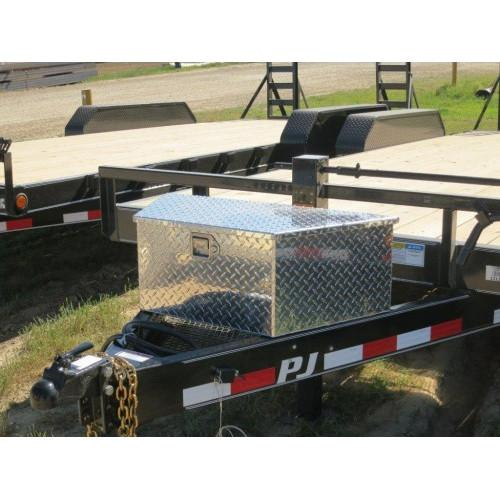 A-Frame Aluminum Large Toolbox A-Frame Toolbox PJ Trailers