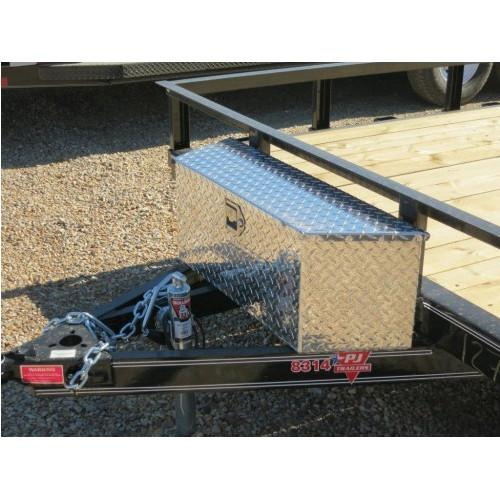 A-Frame Aluminum Small Toolbox A-Frame Toolbox PJ Trailers