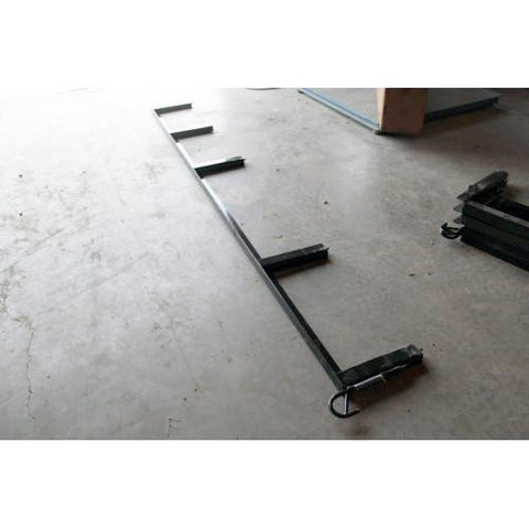 Side Rail for U8 with ATV Ramp - LH