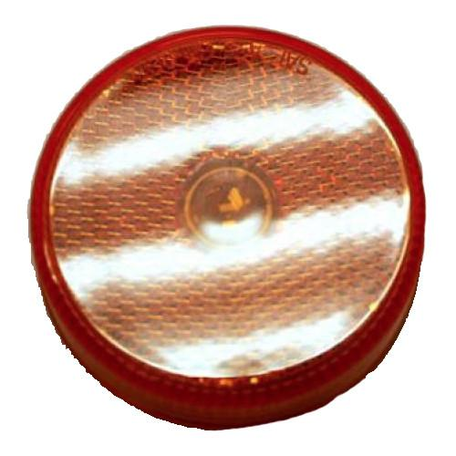 "Amber Clearance Light, 2.5"" Round Clearance Lights PJ Trailers"