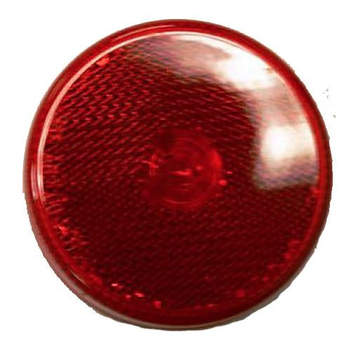 "Red Clearance Light, 2.5"" Round Clearance Lights PJ Trailers"