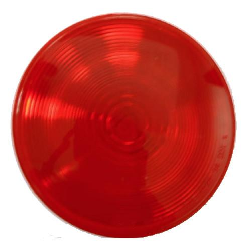 "Red Sealed Tail Light, 4"" Round Tail Lights PJ Trailers"