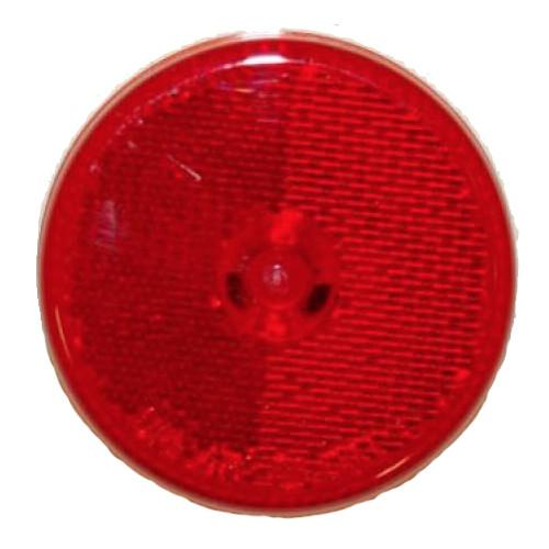 "Red LED Clearance Light, 2.5"" Round Clearance Lights PJ Trailers"