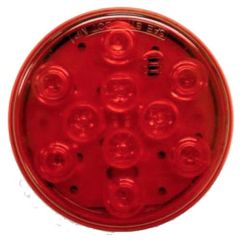 Red Sealed LED Tail Light, 4