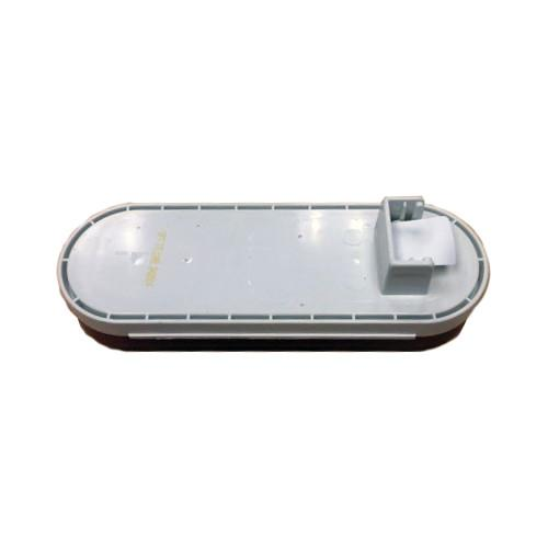 "Red Sealed LED Tail Light, 6"" Oval Tail Lights PJ Trailers"