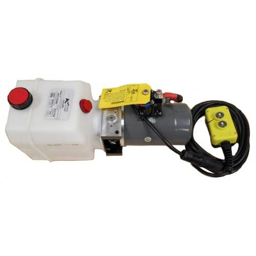Single Action KTI Hydraulic Pump w/Remote Pumps KTI