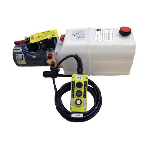 Triple Action KTI Hydraulic Pump w/Remote Pumps KTI