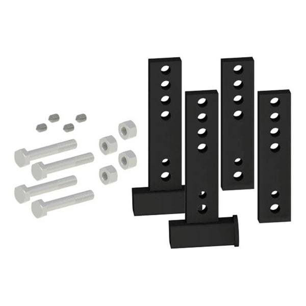 WD Brackets, 'Raised' 3/4/5/6 (2 inside & 2 outside w/hardware)