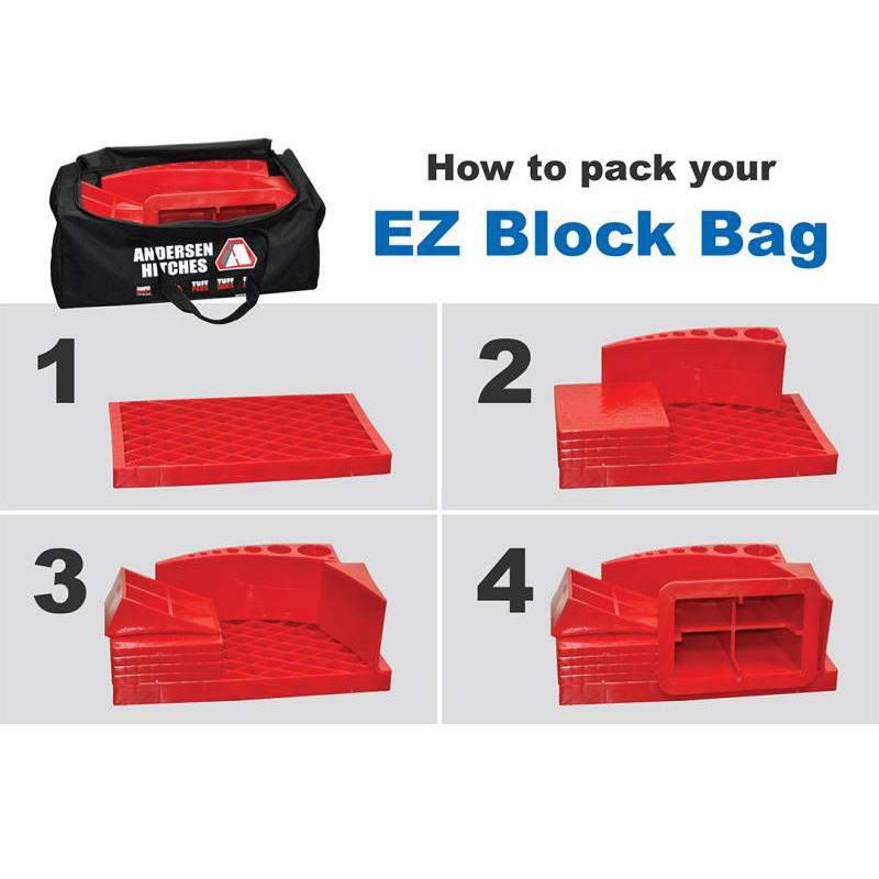 Ultimate Trailer Gear EZ Block Bag (9-pc Kit) RV Accessories Andersen