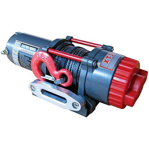 3,500 lbs Capacity 12-Volt Electric Winch Winch Warrior