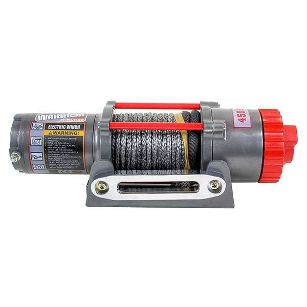 4,500 lbs Capacity 12-Volt Electric Winch Winch Warrior