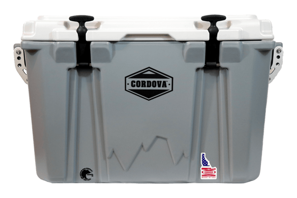 Adventurer 45 lts/42 cans, Gray Cooler