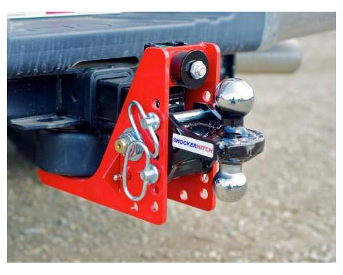 "2-1/2"" Receiver Air Shocker Pkg. - 12K for 2015 & Newer GM only Receiver Shocker Hitch Combo Mount (2"" & 2-5/16"" ball)"