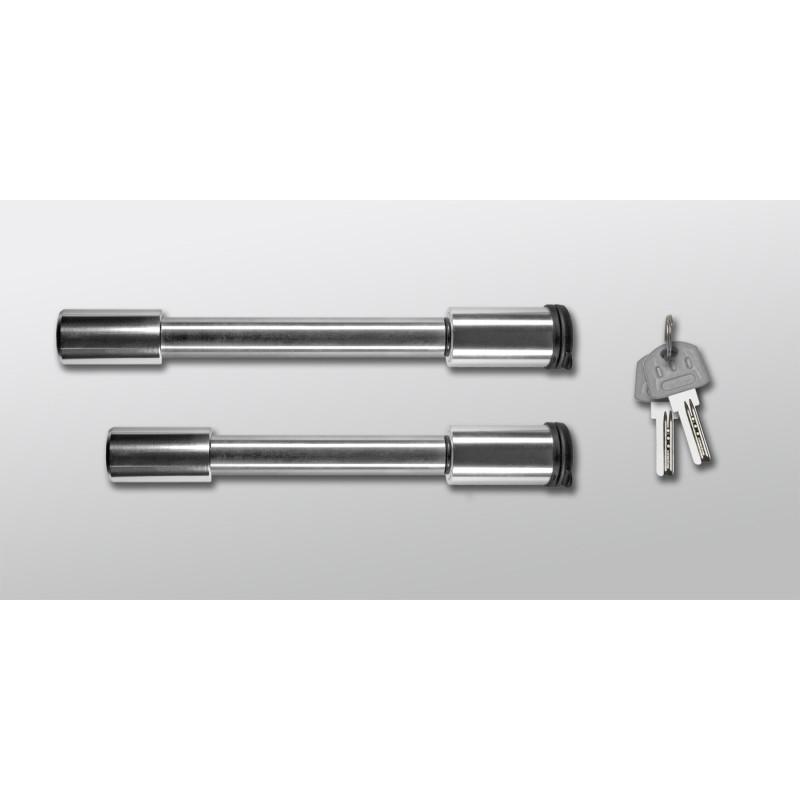 "Stainless Steel Lock Set for Rapid Hitch ONLY -fits 2"" & 2-1/2"" receivers Receiver Lock Andersen"