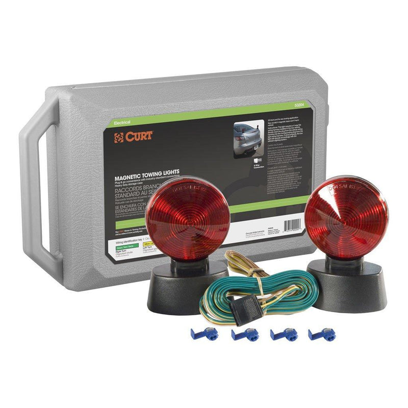 Magnetic Base Towing Light Kit Towing Lights PJ Trailers