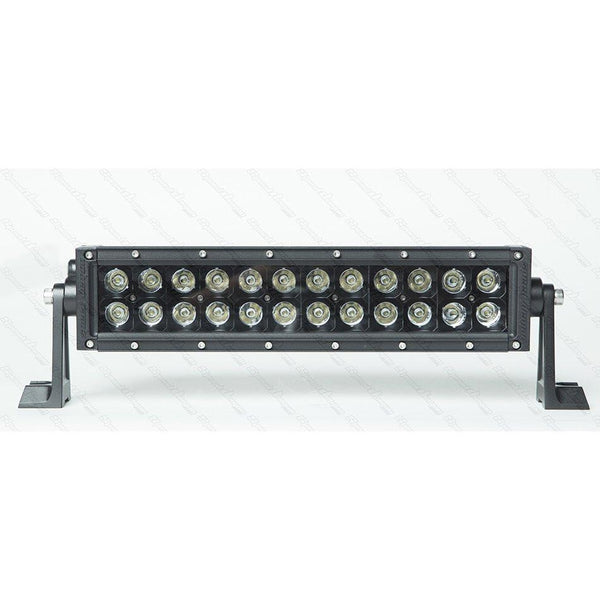 "12"" Dual Row Light Bar - DRC12 Black Ops - 72W LED Light Bar Speed Demon Lights Black"