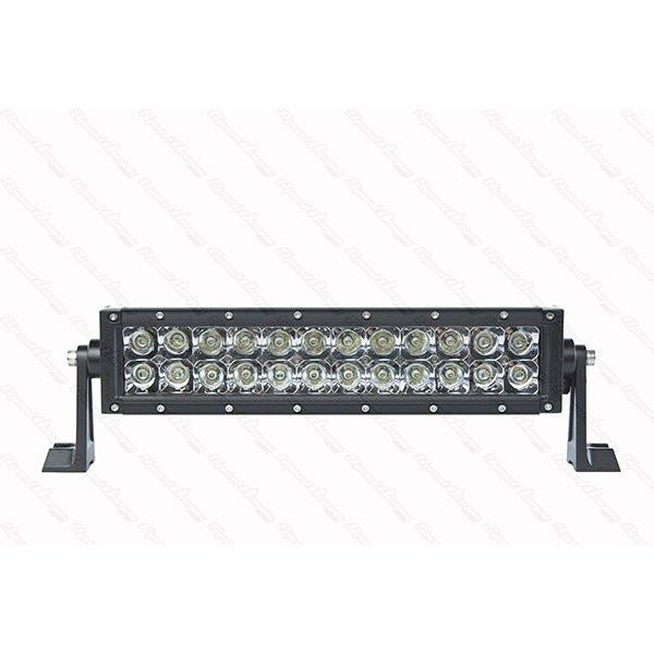 "12"" Dual Row Light Bar - DRC12 - 72W LED Light Bar Speed Demon Lights Black"