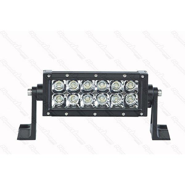 "6"" Dual Row Light Bar - DRC6 - 36W LED Light Bar Speed Demon Lights"