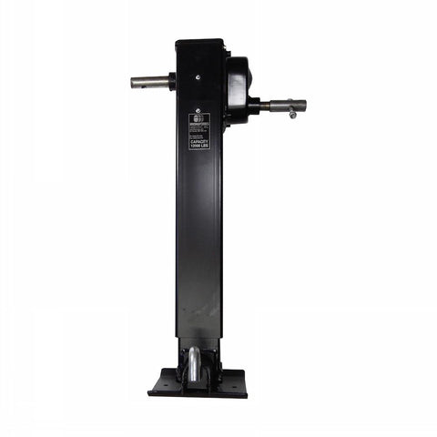 Drop Leg Side Wind Spring Loaded Jack, 2 Speed - 12K