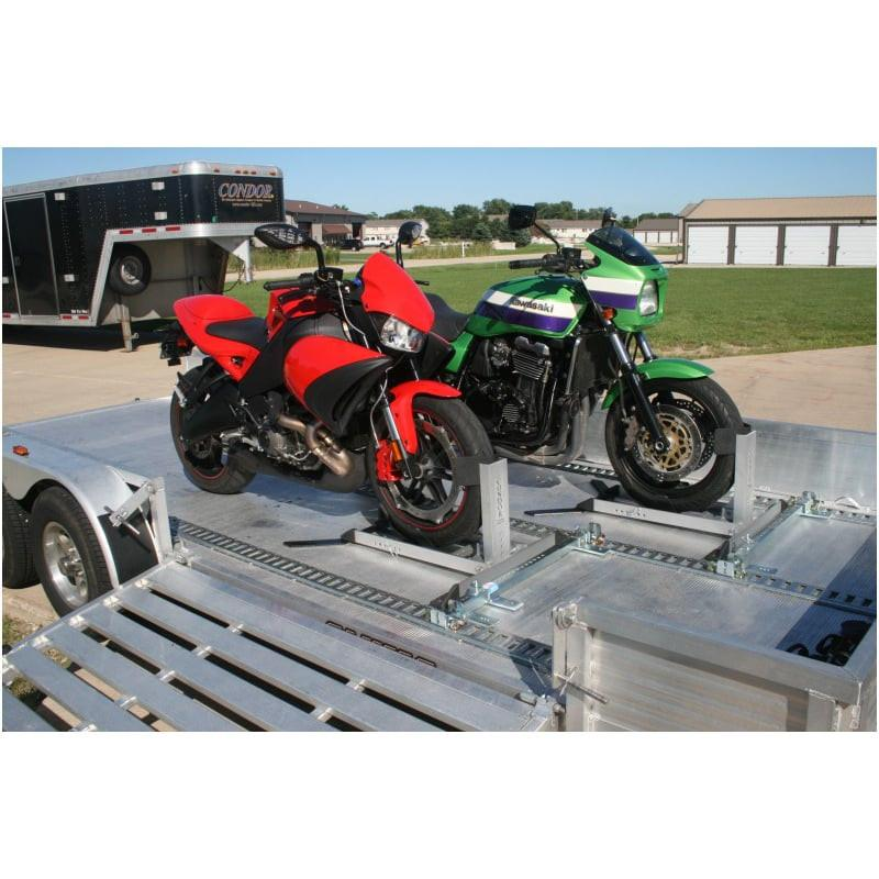 Condor Pit-Stop/Trailer-Stop with Trailer Adapter Kit Motorcycle Chock Condor