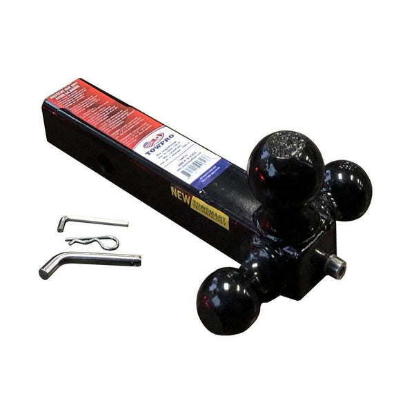 "Tri Ball Mount with 2"" Receiver with the QUIETITE™ Wedging Shank"