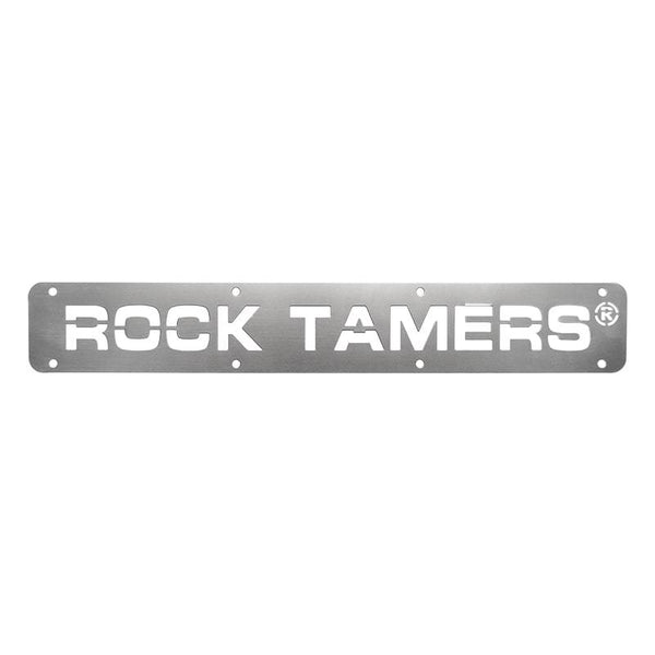 Rock Tamers Stainless Steel Trim plate