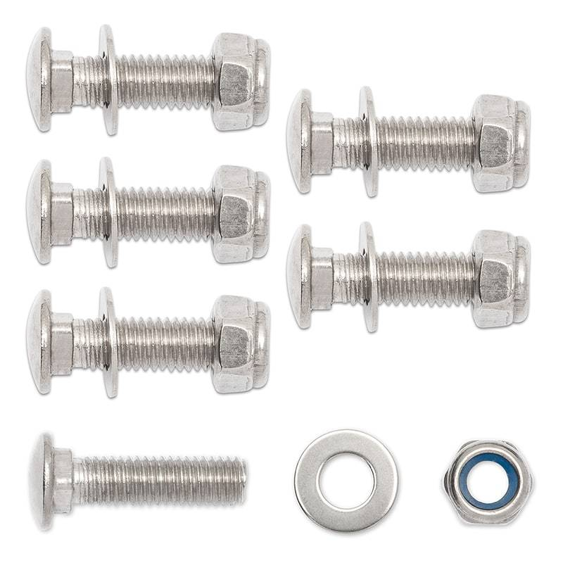 M8 Flap Clamp Bolt Kit Rock Tamers Hardware Rock Tamers