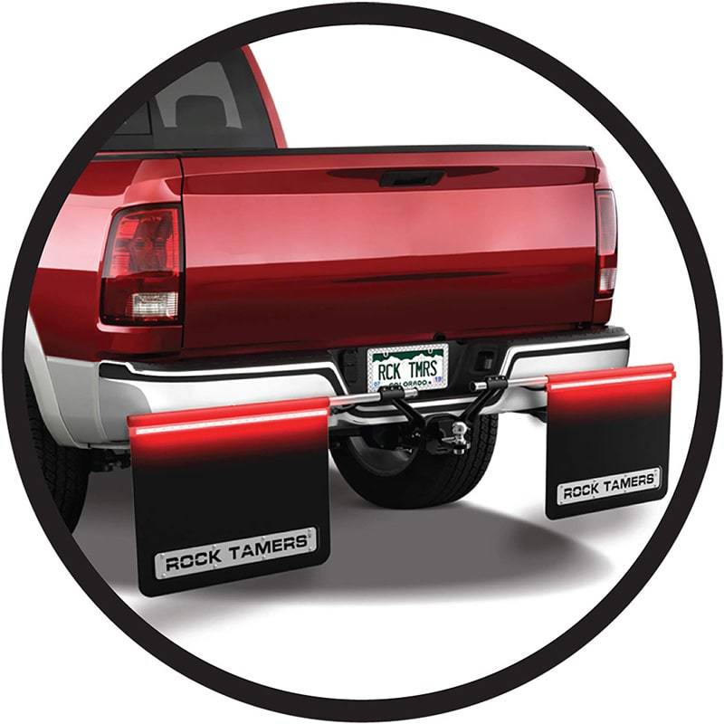 Rock Tamers LED Tail Light Bars for RT Mudflap Systems