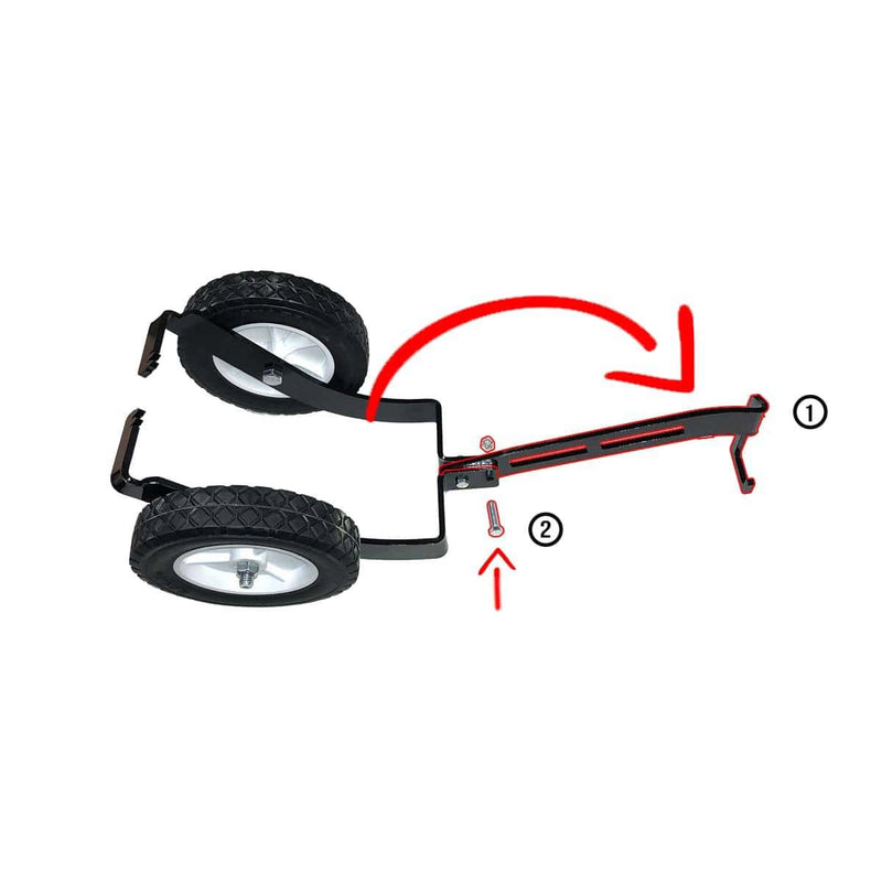 Snowmobile Ski Dolly Set Ski Dolly Ski Dolly