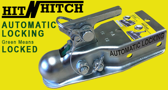 'No-Sway' Weight Distribution Hitch