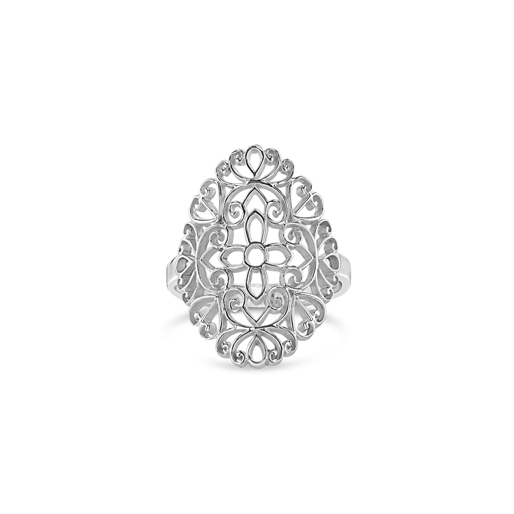 OPEN WEAVE RING