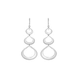 TRIPLE TEAR DROP EARRINGS
