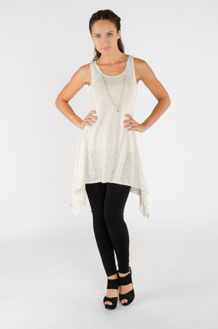 Jersey Cotton Tunic Tank