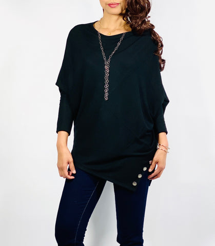 One size Asymmetrical top