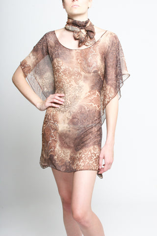 Damask Butterfly Tunic