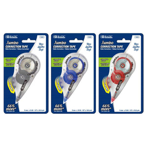 "5 mm x 394"" Jumbo Correction Tape - Bazicstore"