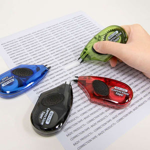 "5 mm x 236"" Correction Tape w/ Grip"