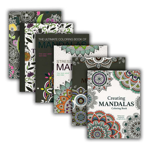 MANDALAS Adult Coloring Books