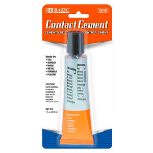 1 Oz. (30mL) Contact Cement Adhesive