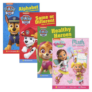 NICKELODEON Assorted Workbooks