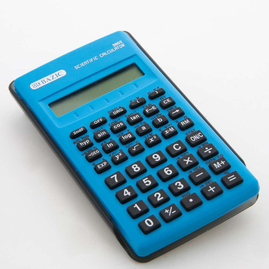 56 Function Scientific Calculator w/ Slide-On Case - Bazicstore