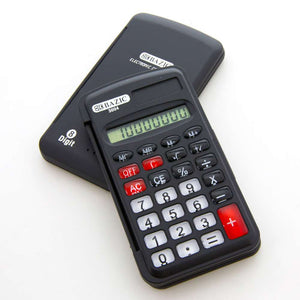 8-Digit Pocket Size Calculator w/ Flip Cover