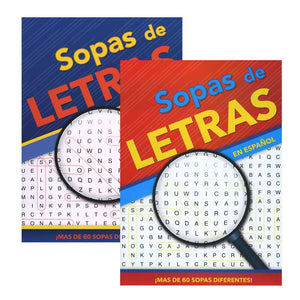 Crucigrama-Sopas De Letras IV Spanish Words Search Book